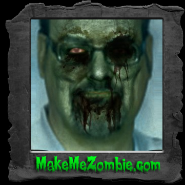 My photo, zombified.