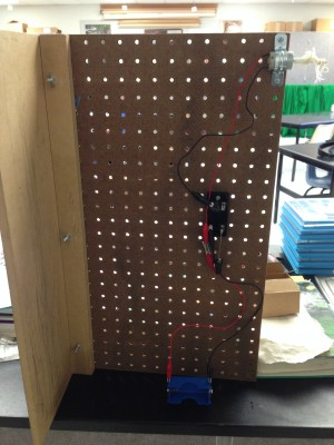 Peg Board Assembly