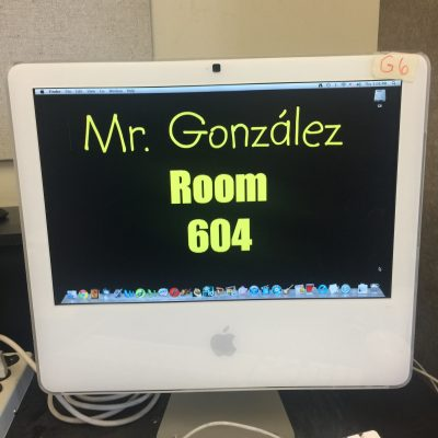 Our iMac